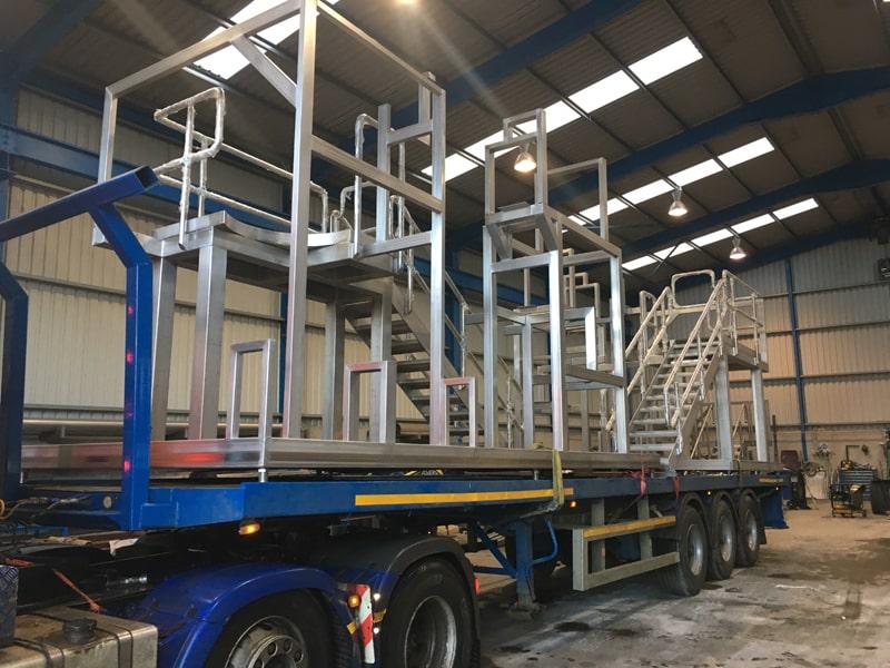 Access Platforms - SX Engineering - 2 of 5 jannsen skid frames