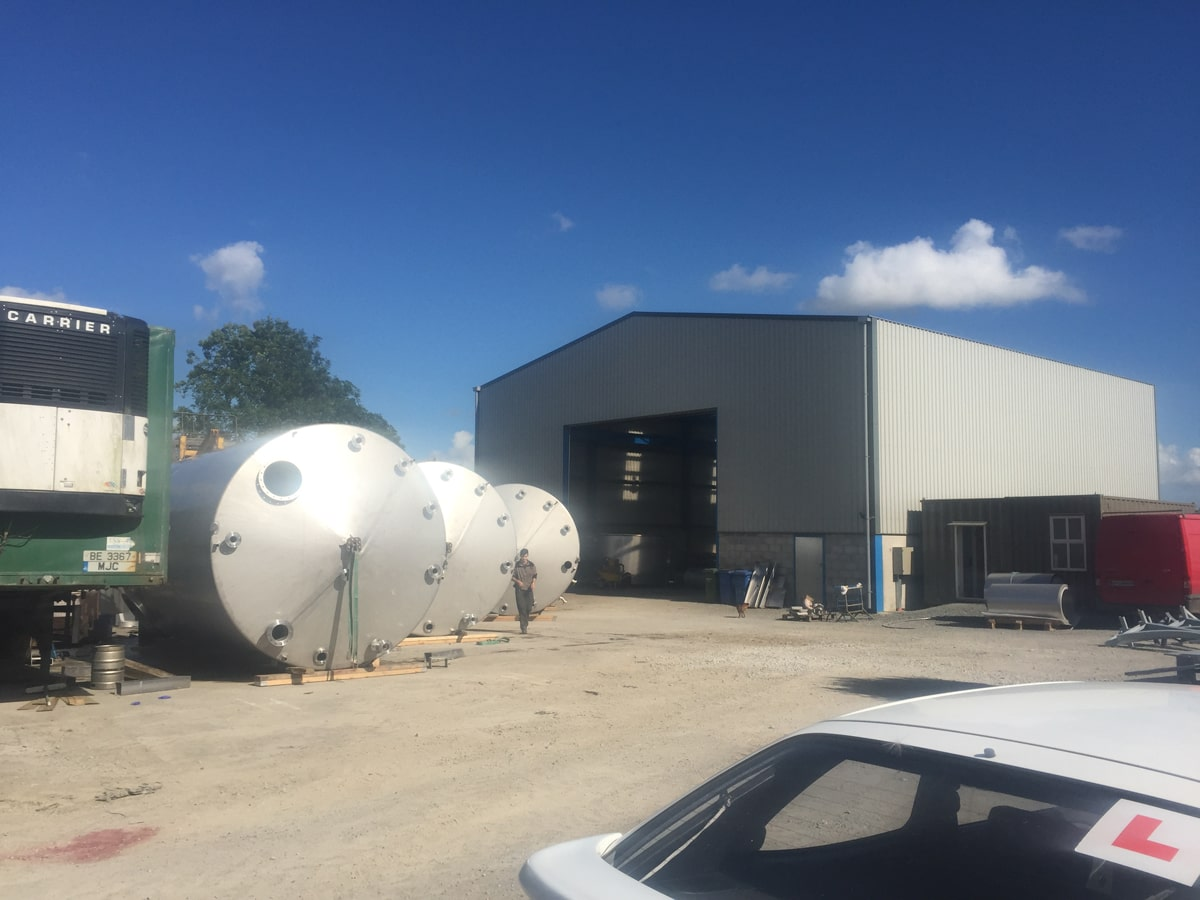 Large Vessels - SX Engineering - 5 x solvent tanks (2) - Hovione