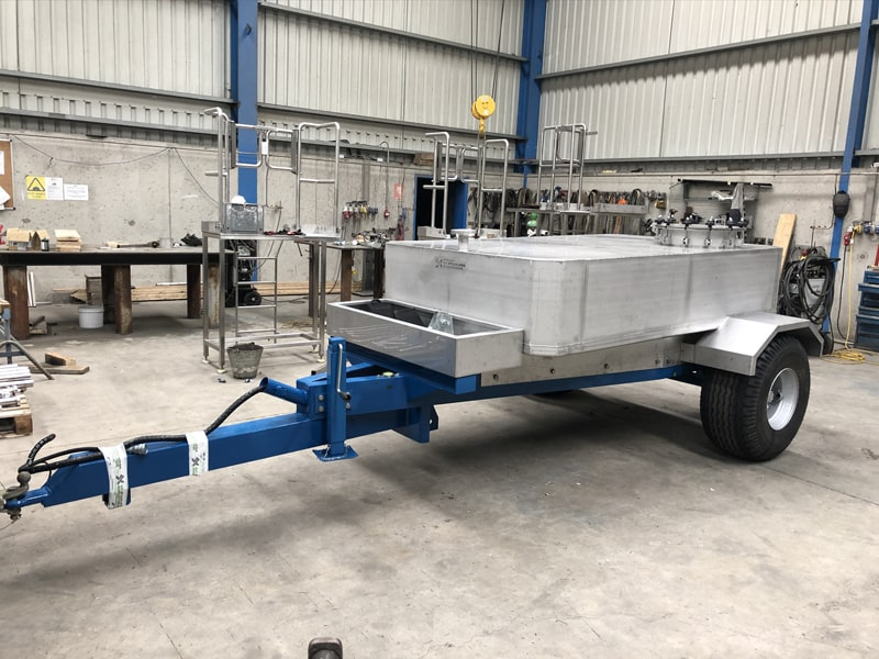 Small Vessels - SX Engineering - Aughinish 2000ltr acid transfer tanker