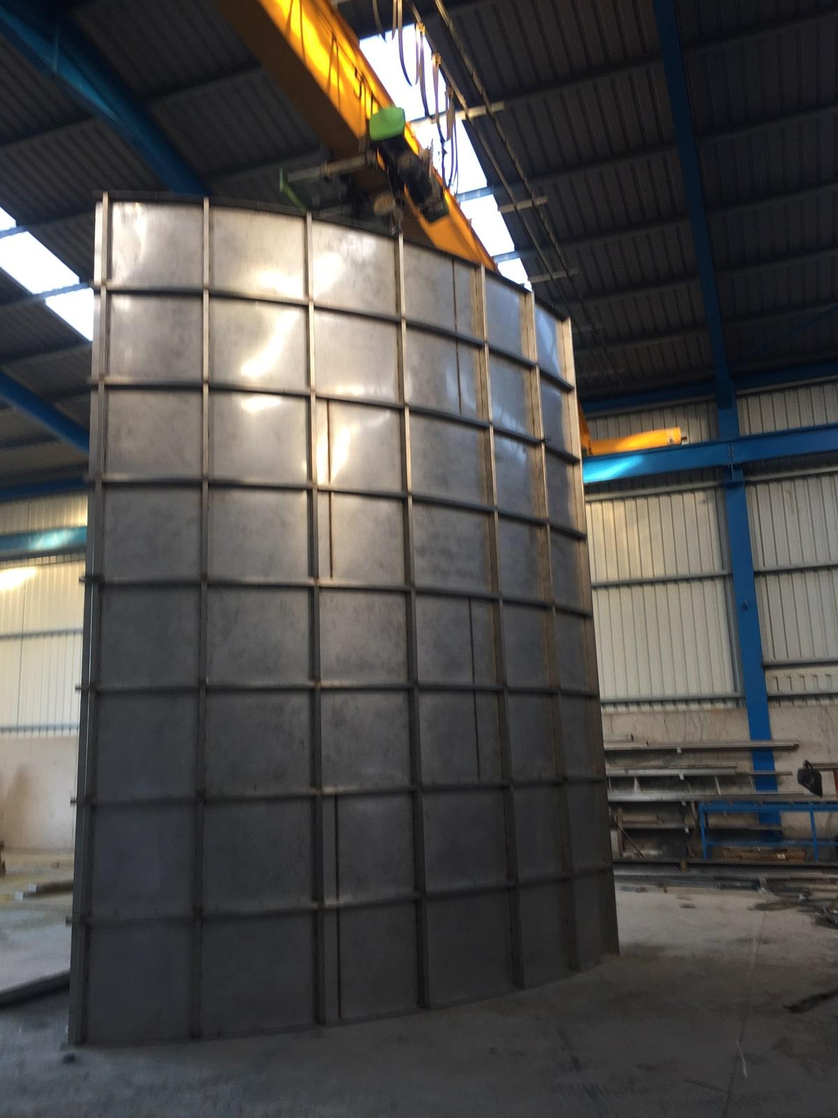 Bespoke Fabrications - SX Engineering - Dryer air intake wall