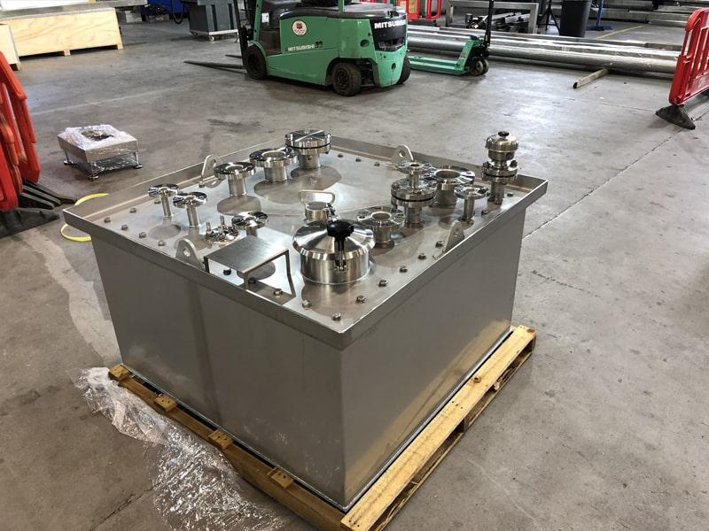 Small Vessels - SX Engineering - MSD 350ltr sump tank