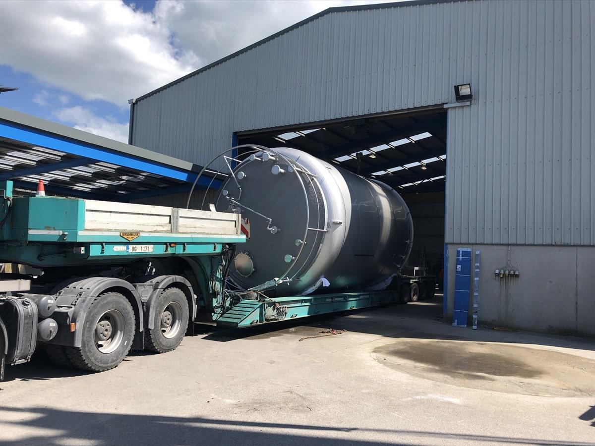 Large Vessels - SX Engineering - WUXI 60000 ltr bio waste vessel