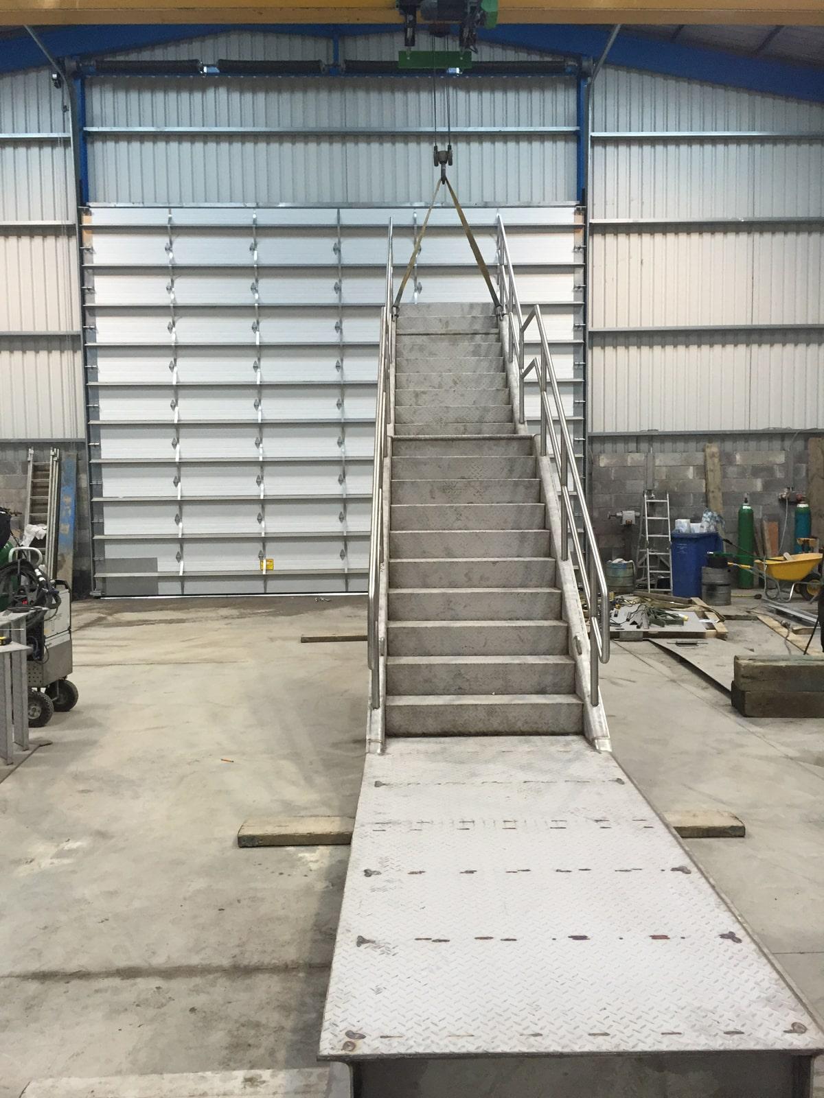 Access Platforms - SX Engineering - Lakelands stairs 2
