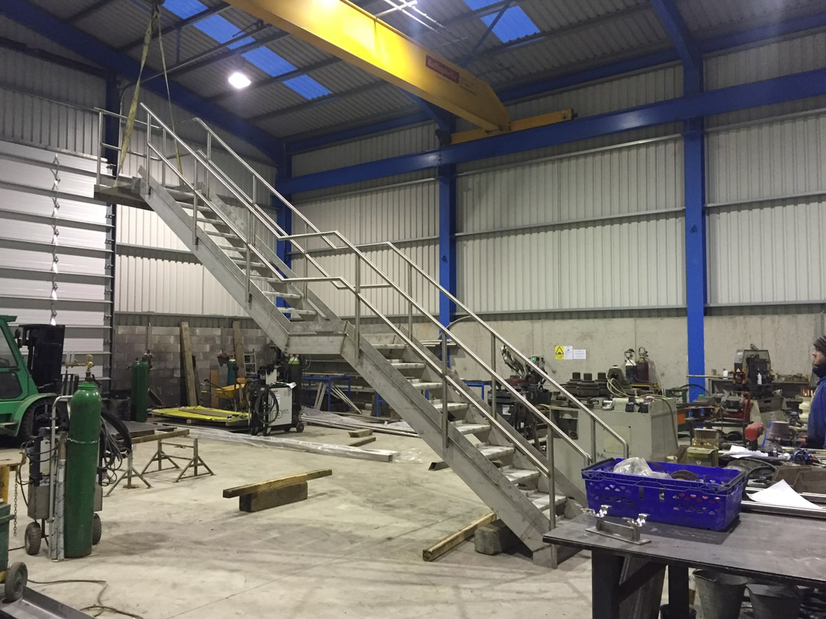 Access Platforms - SX Engineering - Lakelands stairs 3