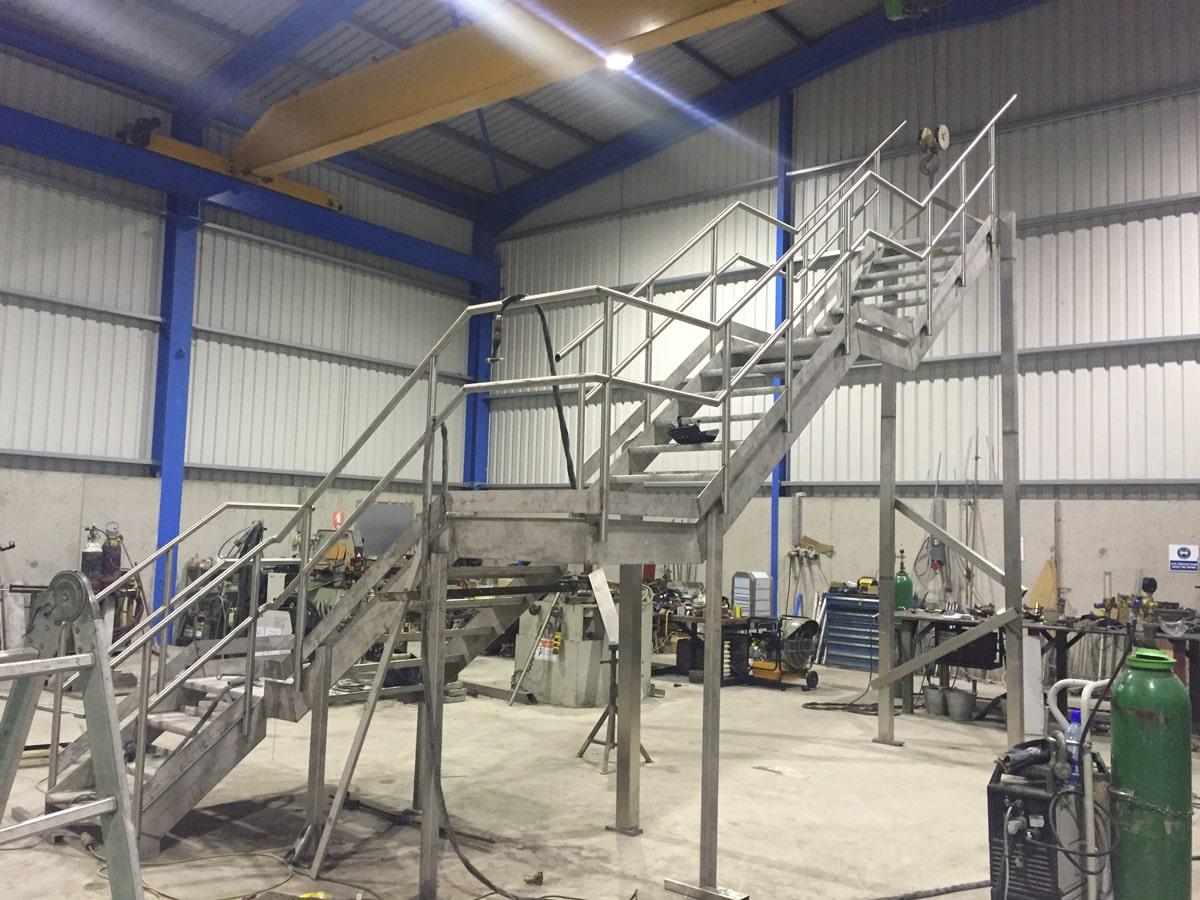 Access Platforms - SX Engineering - Lakelands stairs