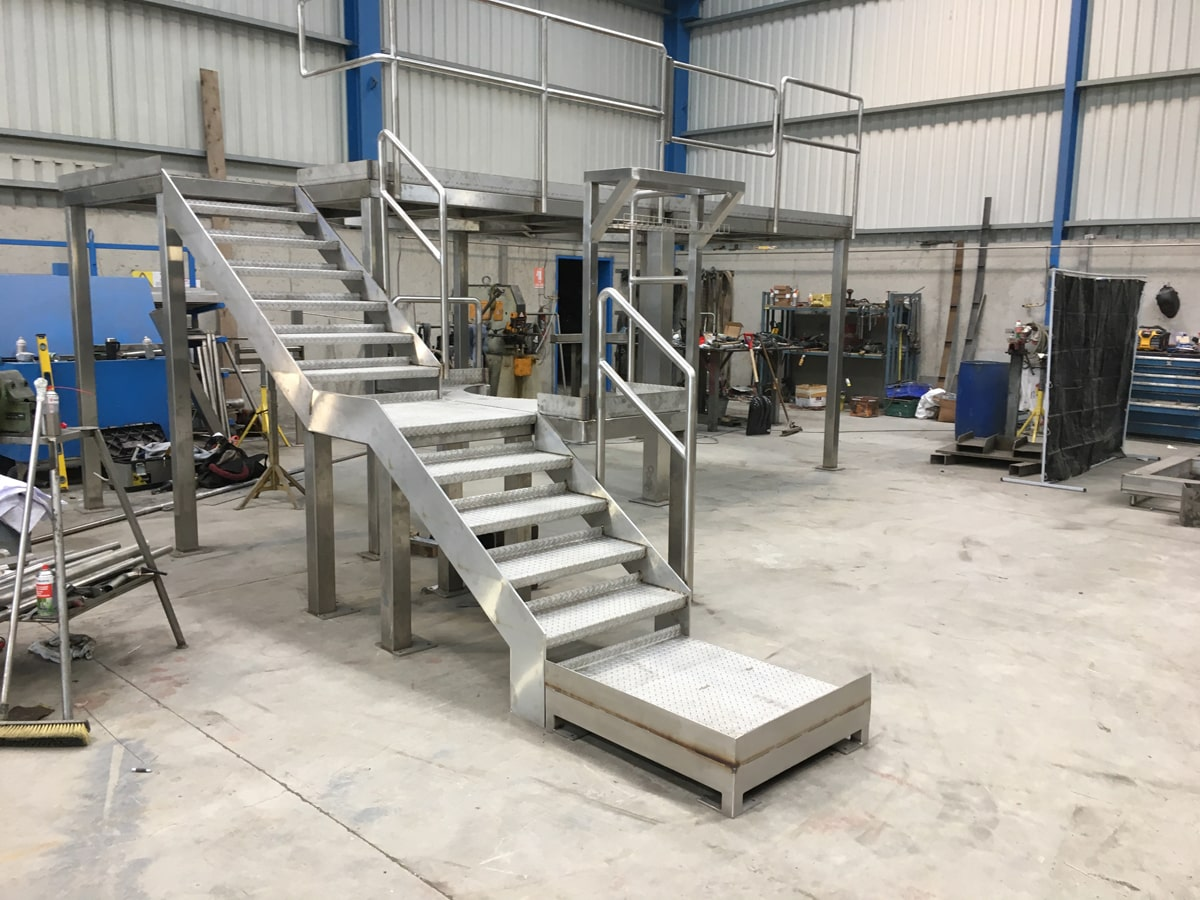 Access Platforms - SX Engineering - Platform prefab