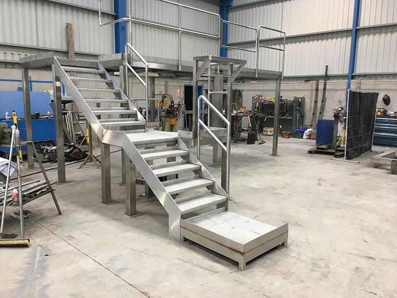 Stainless Steel Specialists - SX Engineering - platform prefab