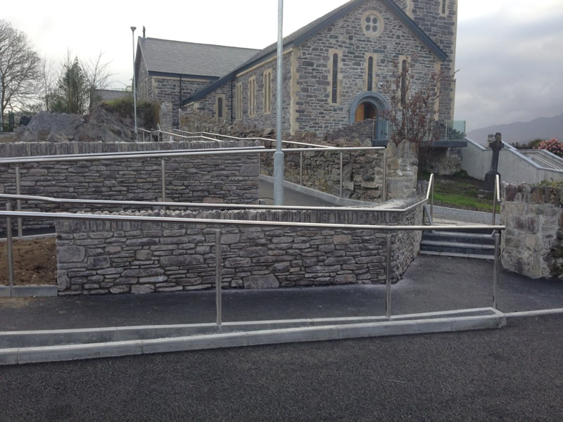 Stainless Steel Specialists - SX Engineering - sneem church rails