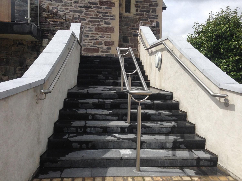 Architectural - SX Engineering - Sneem church rails