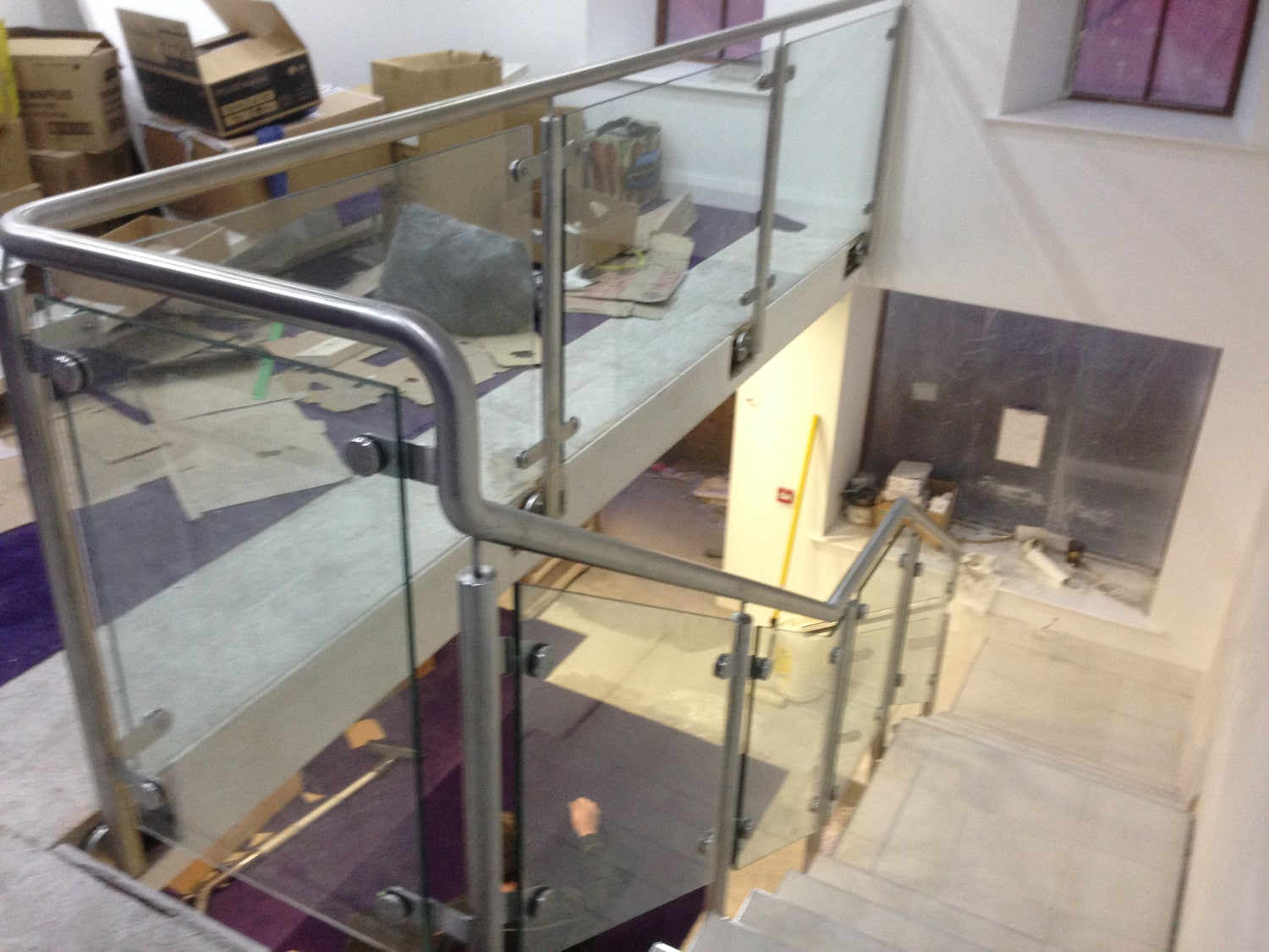 Architectural - SX Engineering - ss glass balustrade