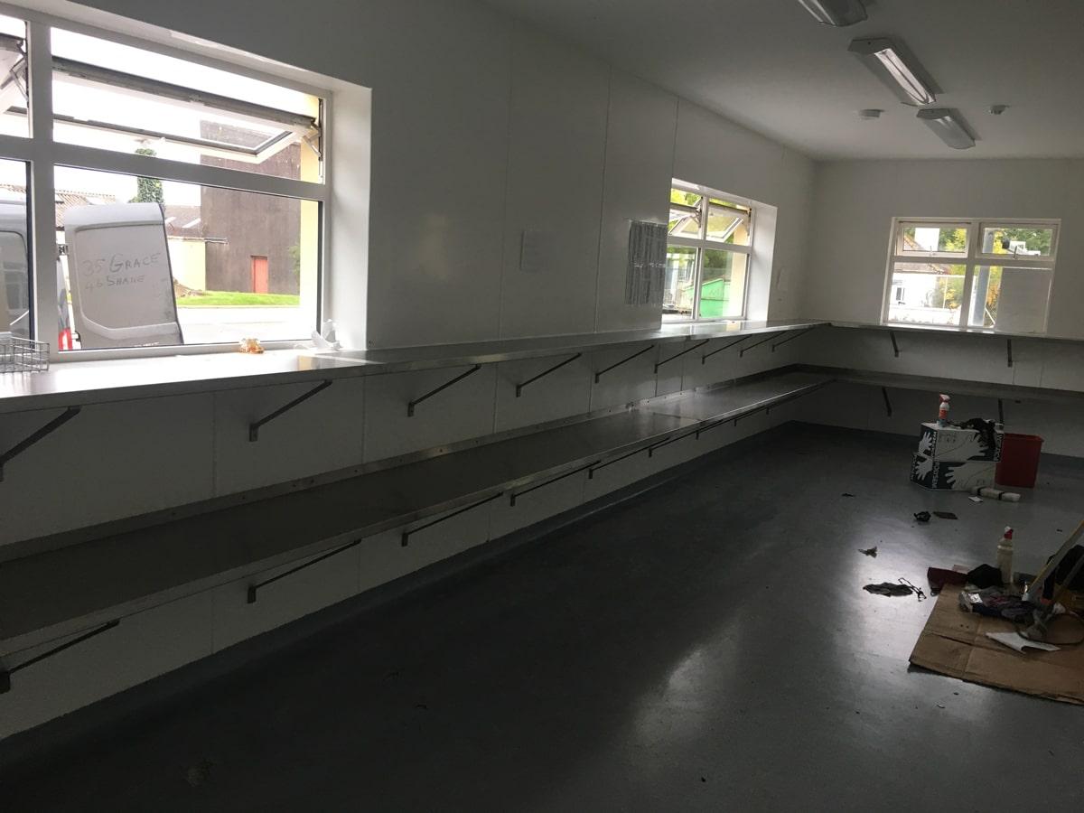 Bespoke Fabrications - SX Engineering - ss storage shelving
