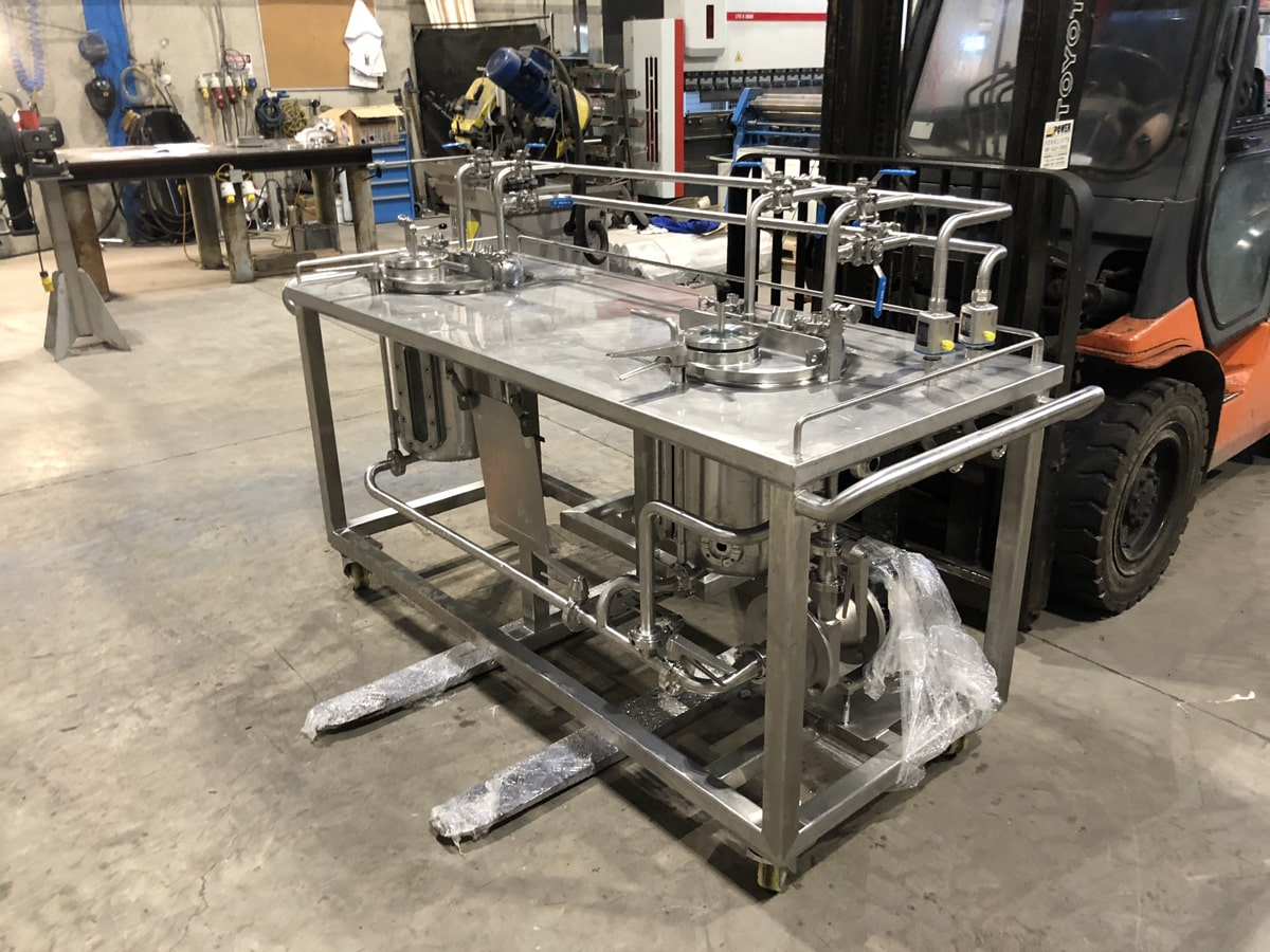 Bespoke Fabrications - SX Engineering - Trails mixing table
