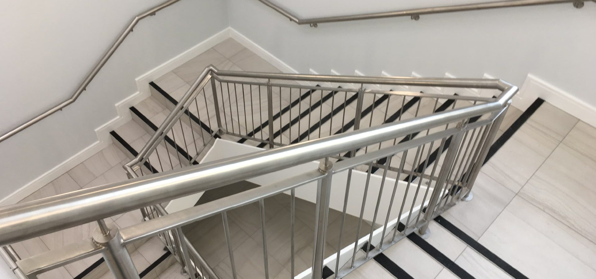 Architectural - SX Engineering - GE carrigtohill canteen stairs balustardes