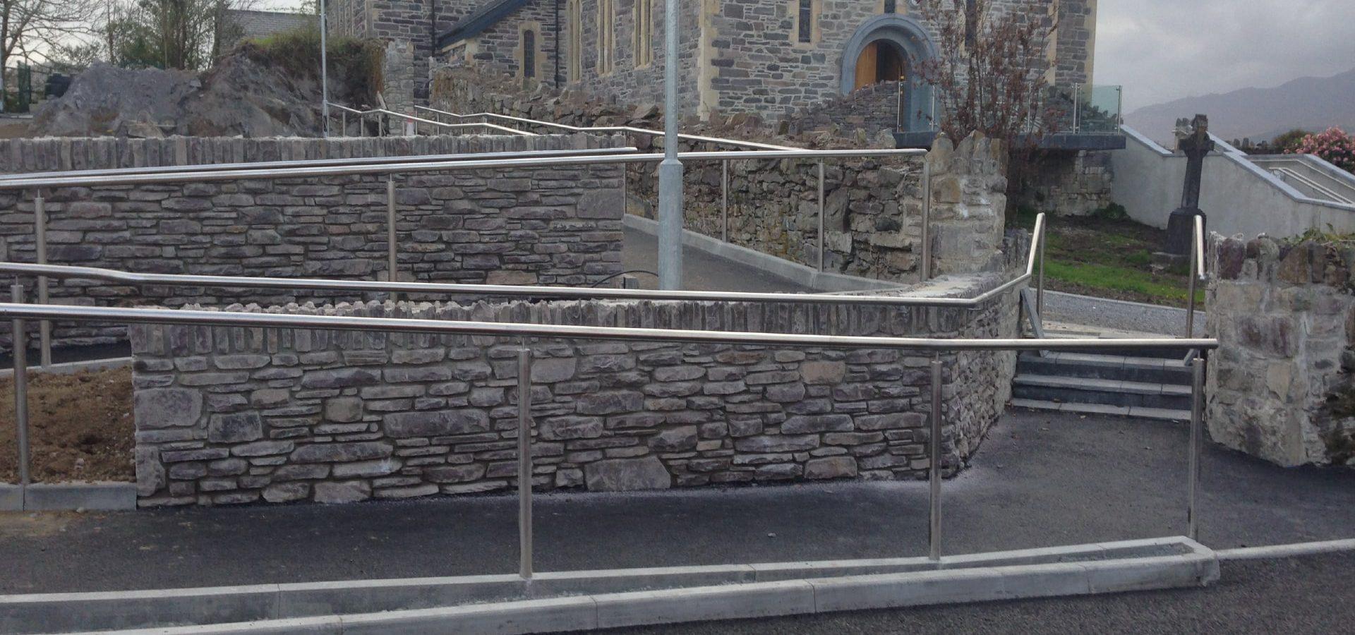 Architectural - SX Engineering - Sneem church rails 3